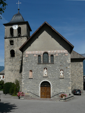 Façade de l'église st-Martin - photo A/JFD