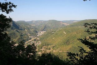 Le vallon de Saint-Rambert en Bugey - Photo C.C. Wikipedia