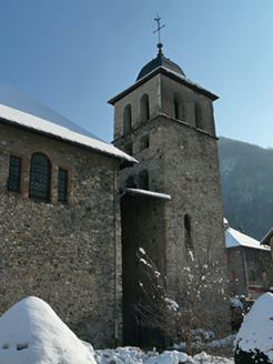 Eglise de Chamoux - photo A/JFD